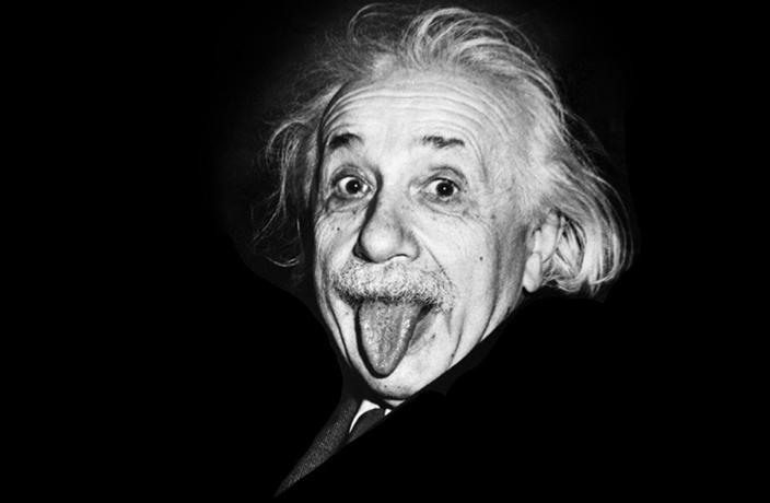 Pourquoi Einstein tire-t-il la langue ?